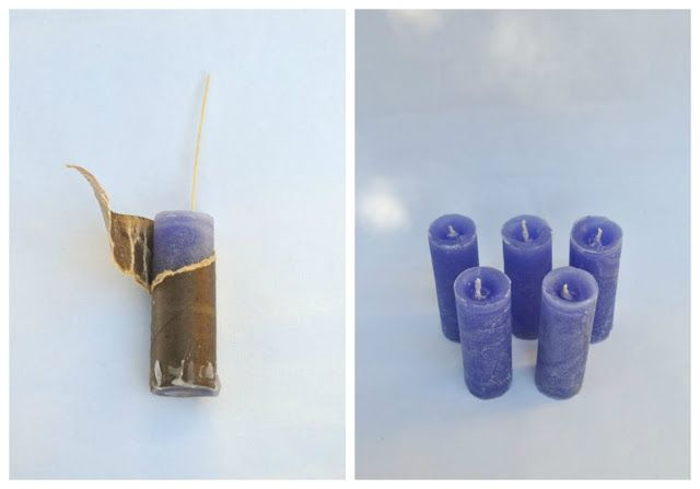 how to make pillar candles at home