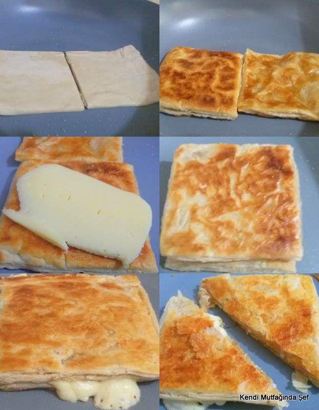 1-tavada milföy tost