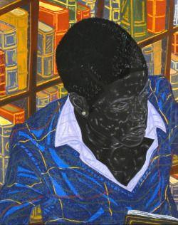Toyin Ojih Odutola (Nigerian, b. 1985), Michaelmas Term, 2016. Charcoal, pastel and pencil on paper, 24 x 19 in. (sheet)