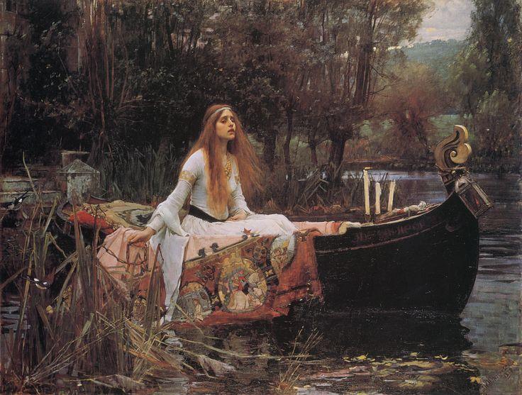 Waterhouse: The Lady of Shallott.