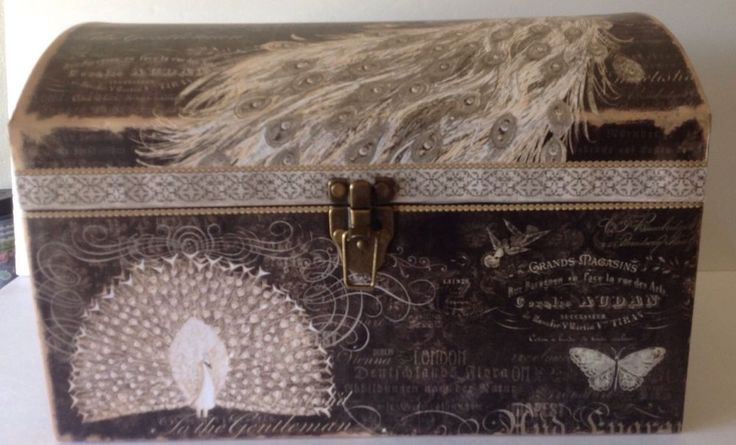 Punch Studio Decorative Storage Trunk Chest Box Kirshner Decorative Arts Collect #PunchStudio #KirshnerDecorativeArtsCollection