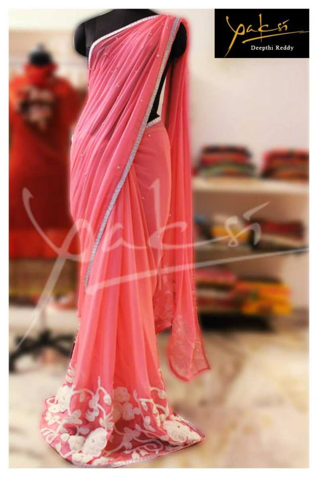 Indian Jewellery and Clothing: Do you know about Yakshi , Banjara Hills ??? If not please check it out..Its a designer store by Deepthi Reddy who is creating beautiful sarees
