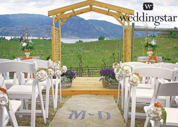 Inspiration Outoor Ceremonies: 38 Best Images About Vineyard Wedding Inspiration On