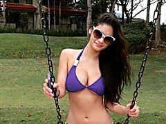Pia posts stunning bikini pic after finishing 16th in 'sexiest' list