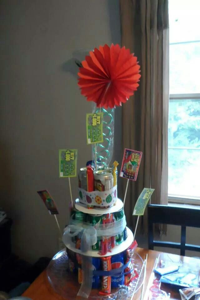 Birthday Party Ideas From For An 18 Year Old Boy Ndy Soda Scratch Tickets And Source Image