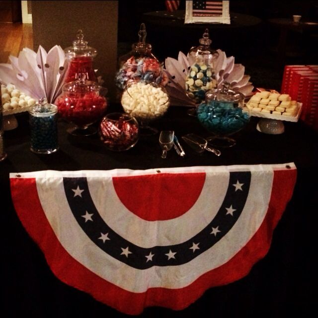 4th of July candy station!