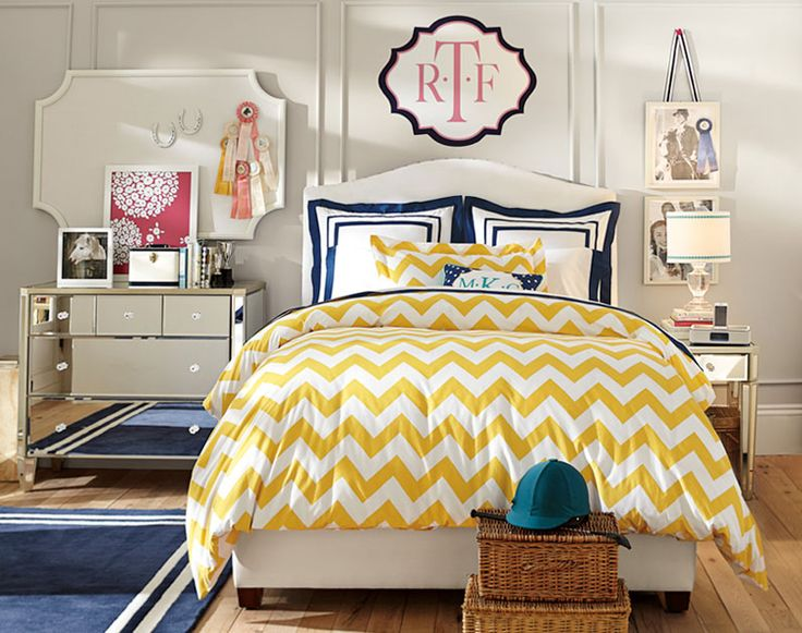 Teenage Girl Bedroom Ideas | Sense of Glamour | PBteen
