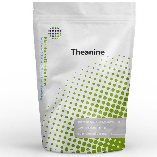 L-Theanine is 1 of the 20 amino acids which are the building blocks of protein. http://www.blackburndistributions.com/theanine-powder.html