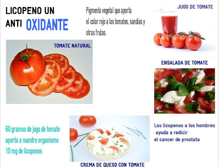 Antioxidante  Tomate