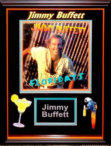Jimmy Buffett Signed Floridays Album