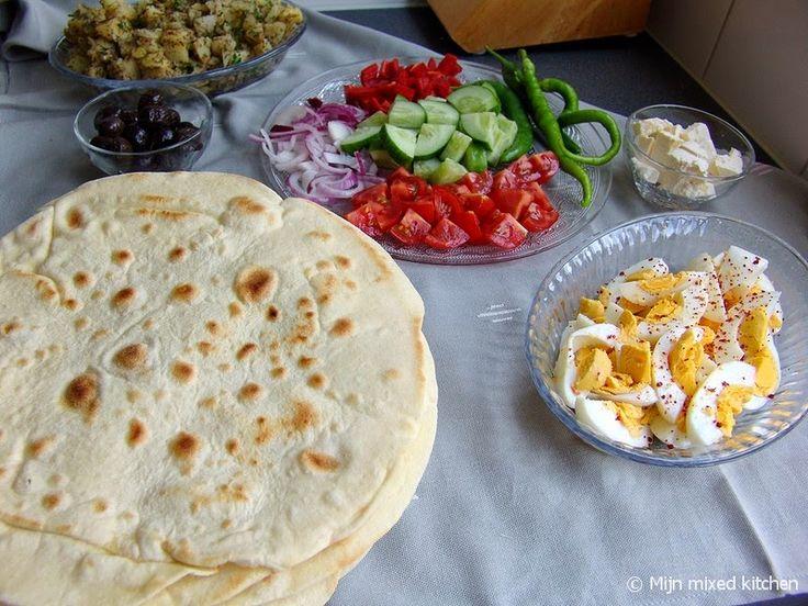 Mijn mixed kitchen: Sıkma (Turks platbrood)