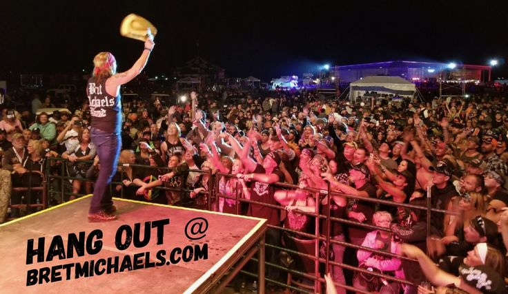 Another record breaking night at The Full Throttle Saloon in Sturgis, South Dakota. It was great playing the new venue. Thank you for an insane Sturgis Motorcycle Rally party!☠️ #PartyStartsNow #RockTheWorld  http://bretmichaels.com/site-news/news2/bretmichaels-com-photo-75/