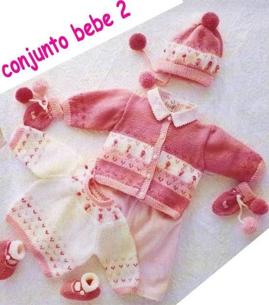 EXPLICACIONES - Patrones de chaqueta para bebés