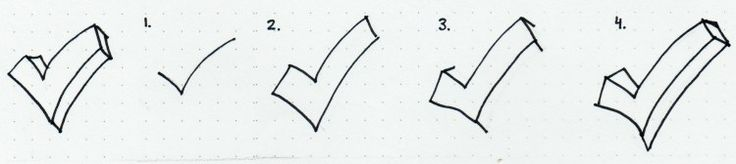 doodle_how_to_draw_3Dcheckmark