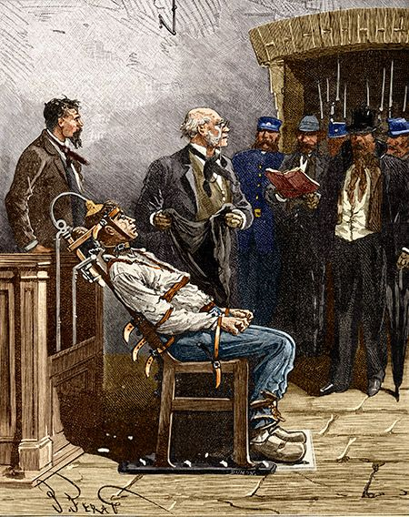The First Execution by Electric Chair - William Kemmler was killed on August 6th, 1890.
