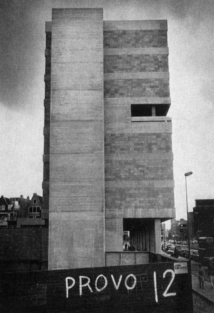 Student Housing, Amsterdam, Netherlands, 1966 (Herman Hertzberger)