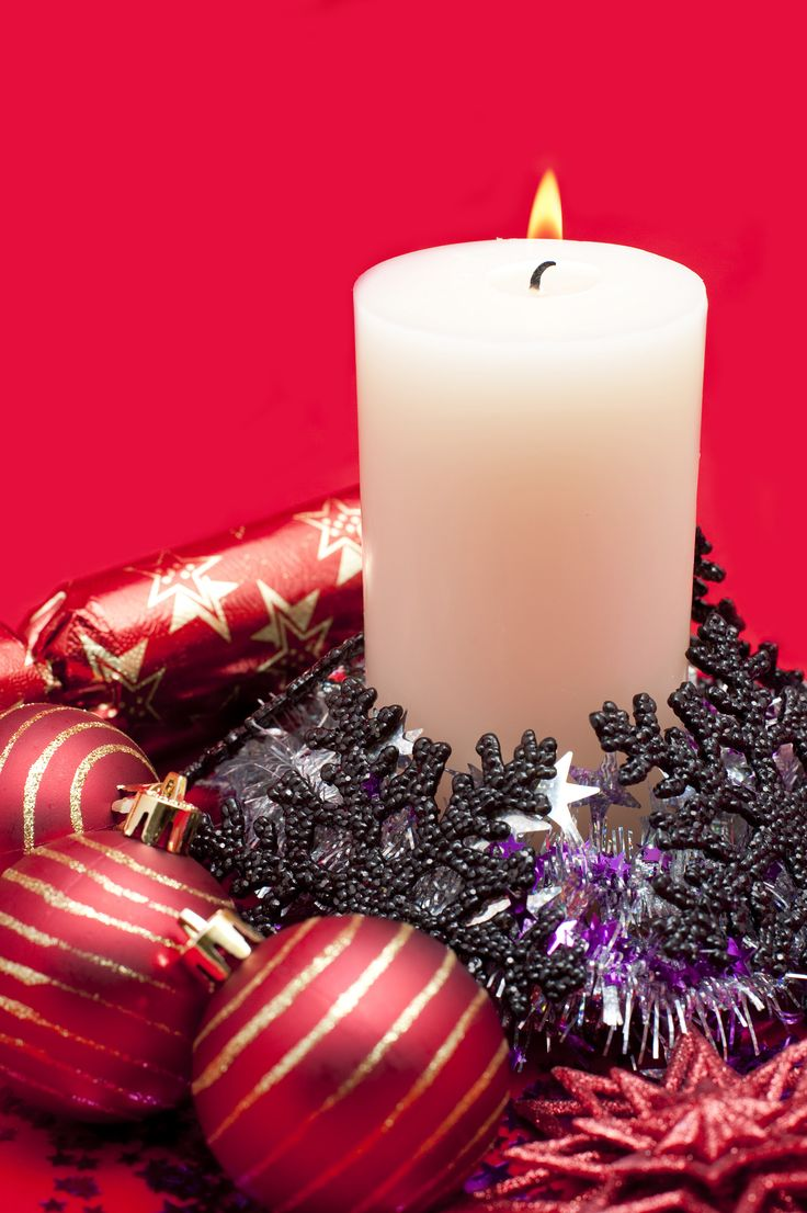 266 best christmas candles images on pinterest | flower