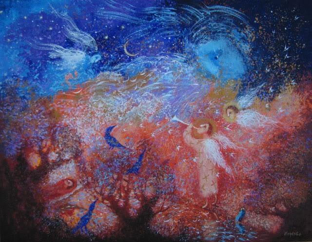 Pinzellades al món: Il·lustracions d'Elena Markova: misteri i màgia de Nadal