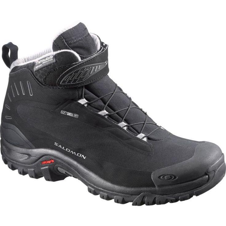 Salomon Men's Deemax 3 TS Waterproof Winter Boots, Size: 10.5, Black