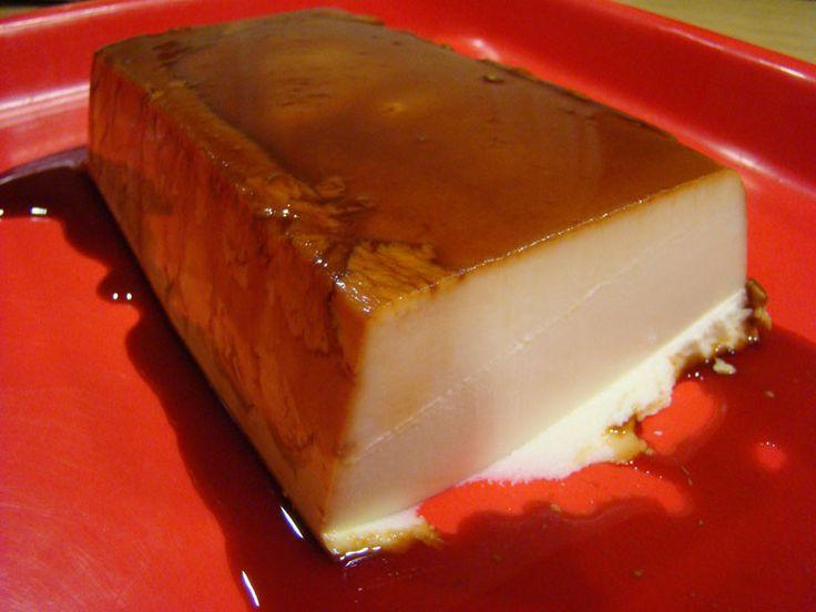 Flan de cuajada y queso philadelphia