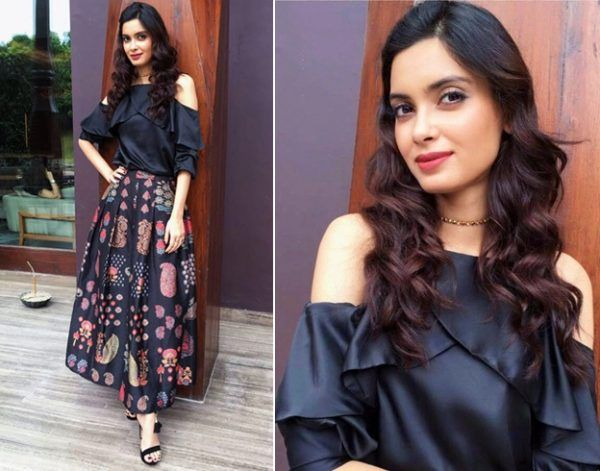 Diana Penty In Madison and Ritu Kumar