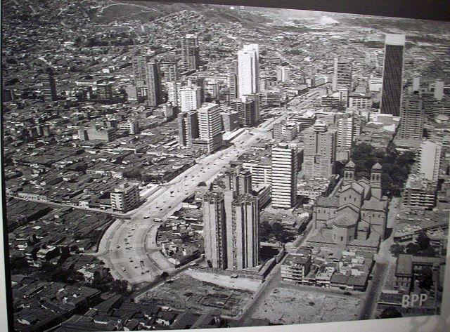 El Antiguo Medellin de los años 70, Colombia