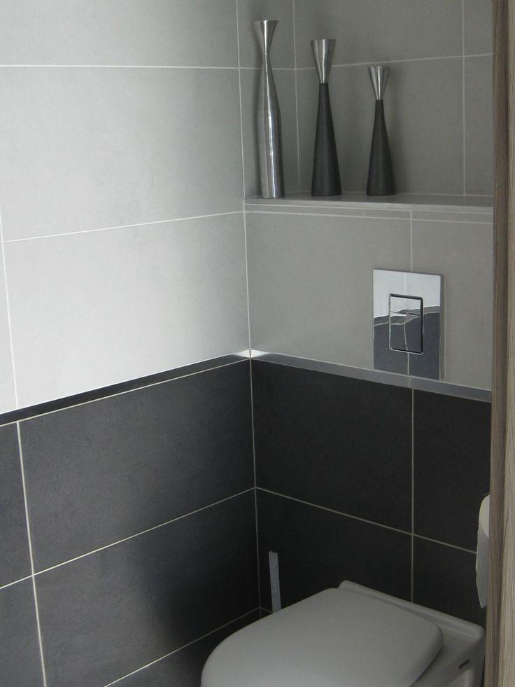 Les 20 meilleures id es de la cat gorie salles de bains for Carrelage salle de bain gris et blanc