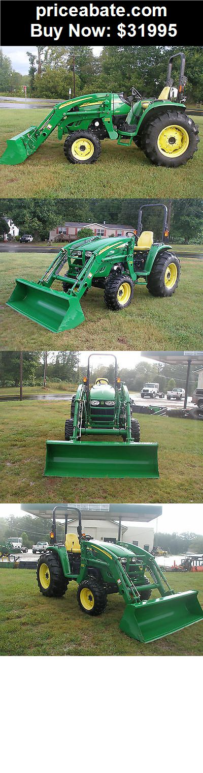 Heavy-Equipments: VERY  NICE JOHN DEERE 4720   4 X 4  LOADER  TRACTOR  ONLY 153 HOURS - BUY IT NOW ONLY $31995