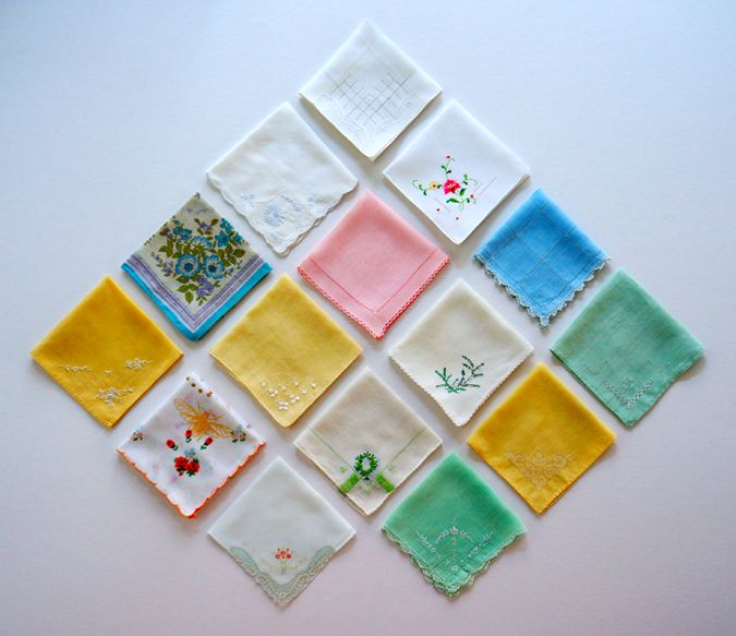 My Nana started me on a long-long adoration of antique handkerchiefs,old lace,needcrafts of all sorts-when she gave me a few old handkerchiefs.I had such fun looking at my hanky collection!Still do!It is from my Nana that Mom and i got our love of old things!