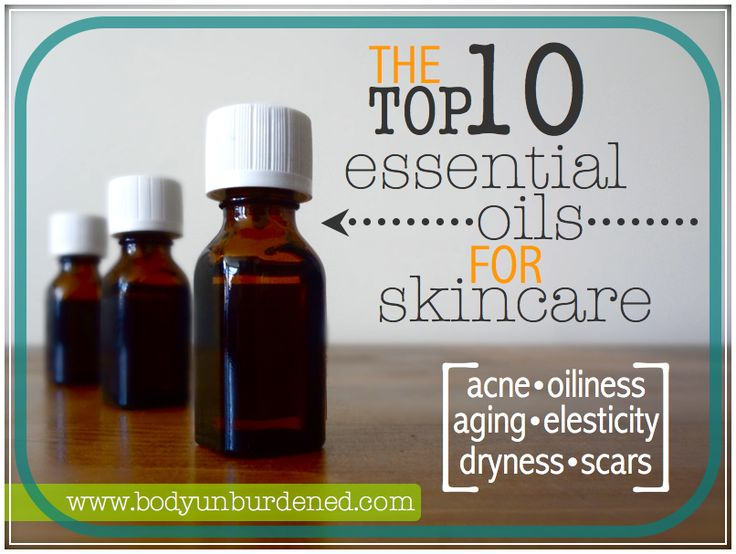 These ten essential oils help naturally remedy a number of skin conditions — from acne to aging, dryness to oiliness. Natural health and beauty.