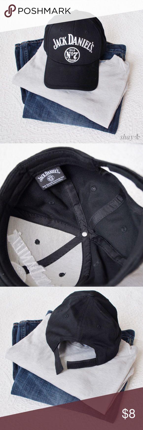 MEN'S Jack Daniel's Baseball Cap Never worn, Velcro closure... Jack Daniel's Accessories Hats
