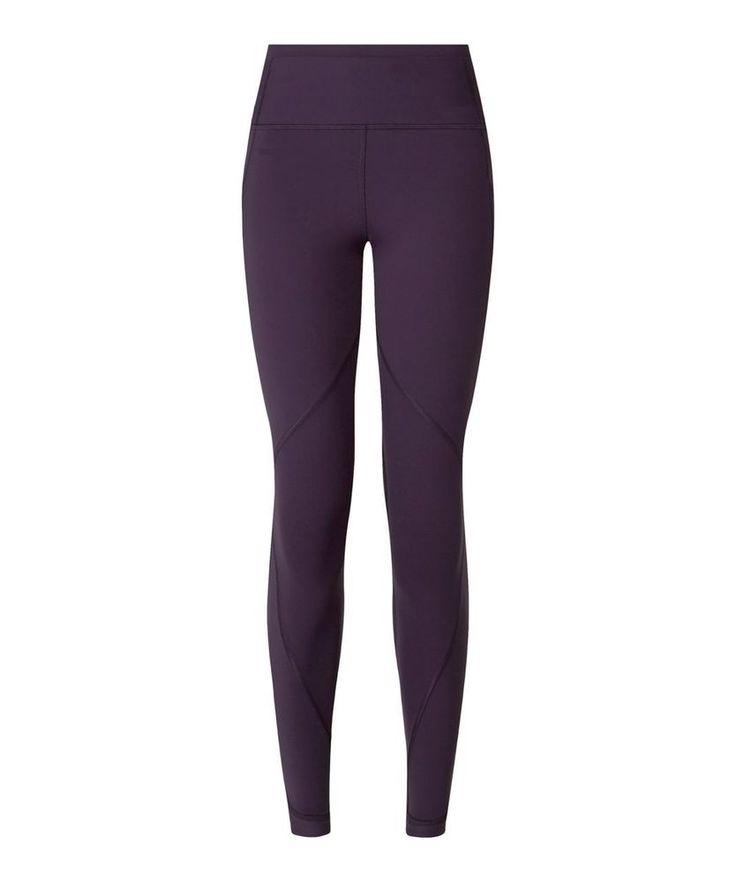 LULULEMON Time to Shine Tight Deep Zinfandel Size 8 EEUC #Lululemon #PantsTightsLeggings