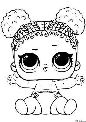 «Раскраски куклы ЛОЛ и питомцы ЛОЛ сюрприз распечатать ...