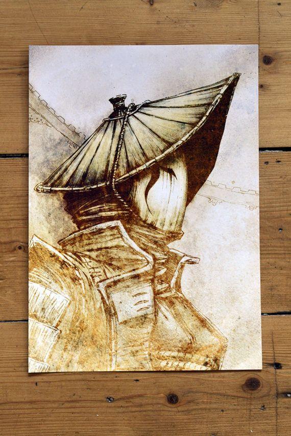 For Honor Nobushi – Art Print