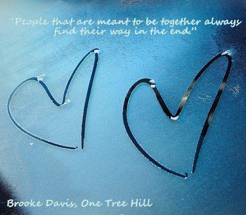 One Tree Hill Quote - Brooke Davis
