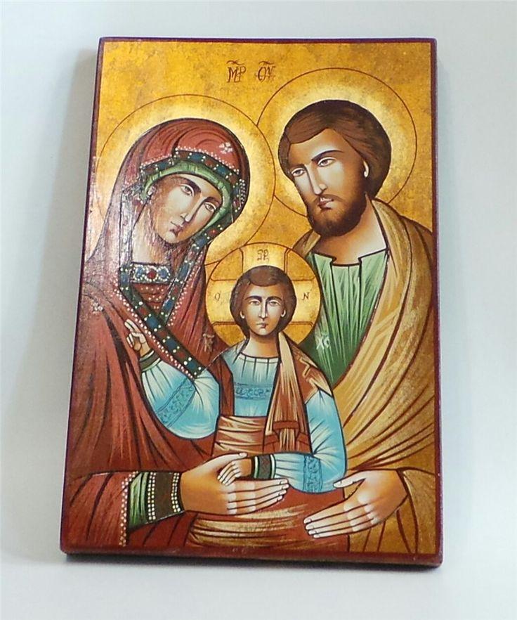 Icona Sacra Famiglia - 27.401