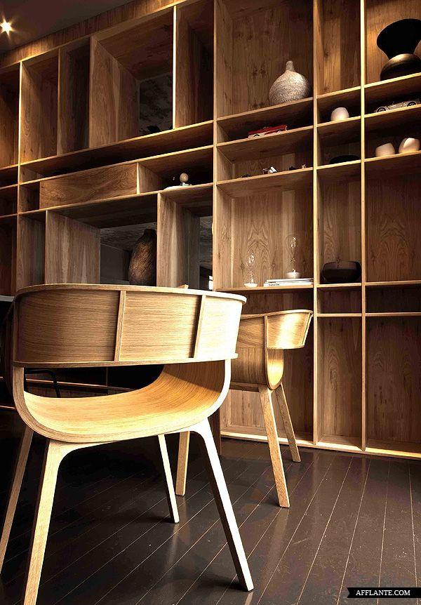 House Aupiais // Site Interior Design | Afflante.com / #wood #architecture