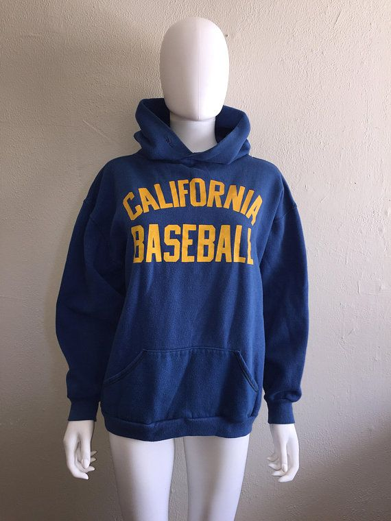 3fa6b958d1c 70s 80s Cal Berkeley Golden Bears California Baseball College University sweatshirt  hoodie