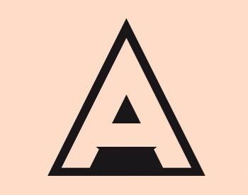 Typo . Typography . Font . Inspiration . Design . Tipografia . Triangle . Gemometric . Sans serif .