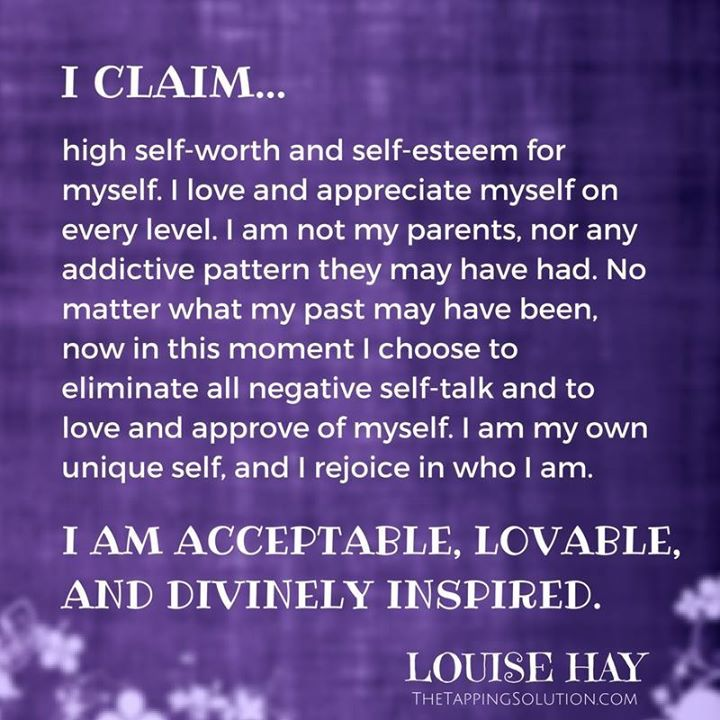Ready to create a NEW VISION FOR YOUR FUTURE? If so I think you'll really love this exercise from my dear friend Louise Hay! I'd recommend Tapping throughout!! A New Vision for Your Future by Louise Hay Its time to make a new vision of your future and let go of any beliefs and thoughts that do not support it. You can begin this process of changing your outlook by completing this exercise below. Take some deep breaths; close your eyes; and think about the person place or thing youre addicted…