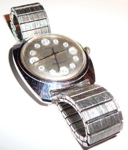 Vintage timex u s reloj