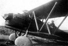 """Spain - 1936. - GC - Fiat CR.32 """"Chirri"""" capturado y puesto en servicio por la…"""