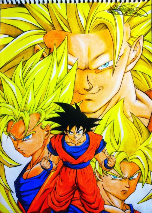 17 best Dibujos de Dragon Ball Z images on Pinterest  Draw
