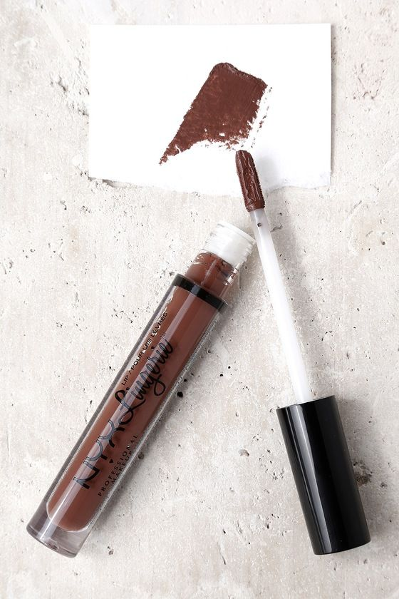 NYX Beauty Mark Brown Lip Lingerie Liquid Lipstick