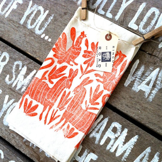 Otomi block printed fabrics