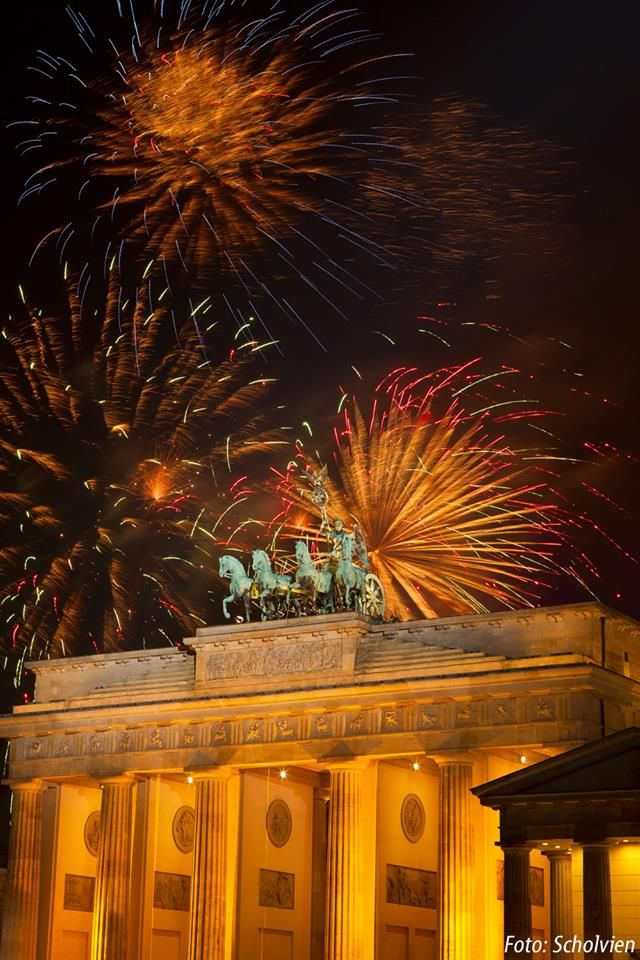 Happy New Year from #Berlin!