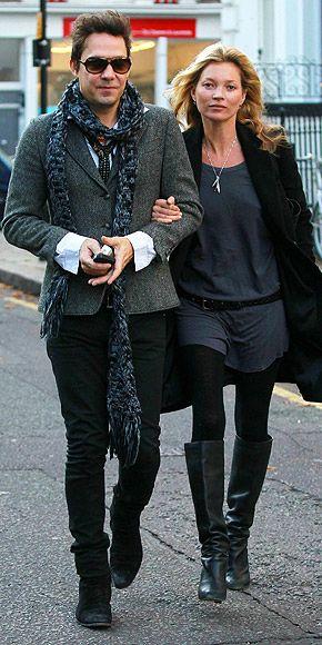 Kate Moss & husband, Jamie Hince