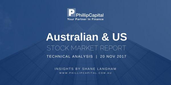Stock Charts Technical Analysis – Australian and US Stock Market Report 20 Nov 17