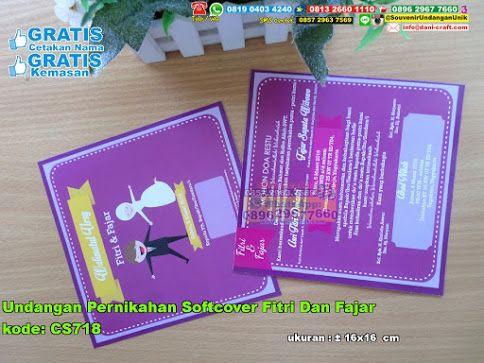 Undangan Pernikahan Softcover Fitri Dan Fajar Hub: 0895-2604-5767 (Telp/WA)  #  # # # # # # #souvenir #souvenirPernikahan