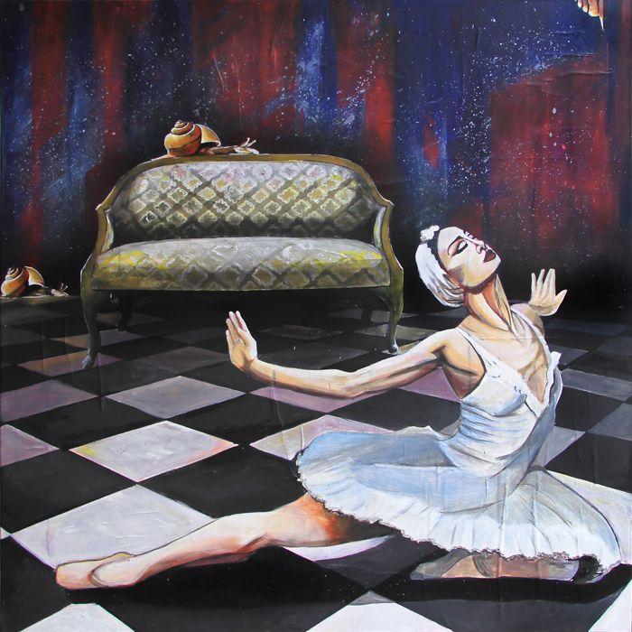 GaeTano amd Valentina, NATURALEZA VIVA, © 2013, acrylic on canvas, 100 x 100 cm.  #pittura #art #painting #arts #GaeTanoAndValentina #AcrylicOnCanvas #scenographTwoArt #SCENOGRAPH2ART #GaeTanoeValentina #visualart #canvas #sem #acrylic #peinture #ceruleo #dipinti #monza #italy